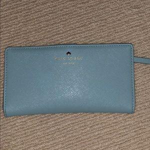 Kate Spade Light Blue Cameron Street Wallet